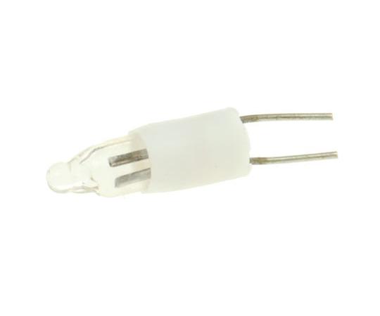 T1 1/4 Clear Filament Indicator Lamp, Lead Pins, 100/250 V 250 μA 104-777