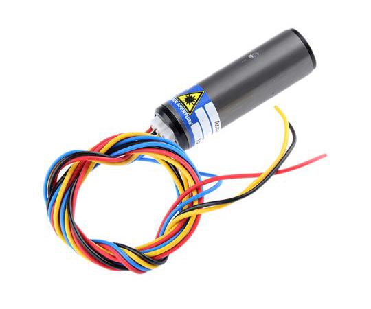 ACCULASE-PWM-650-1-S Laser Module, 650nm 1mW, Modulating, PWM control Dot pattern +4.75 → +5.25 V ACCULASE-PWM-650-1-S