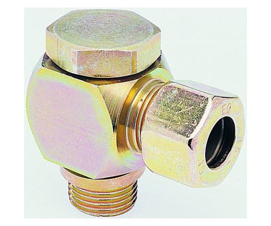 [Discontinued]Pneumatic Banjo Threaded-to-Tube Adapter Push In 20 mm Tube, 160 bar WH20SRCF