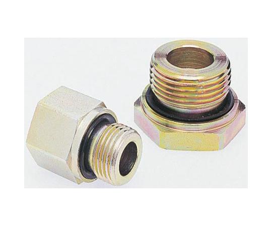 Parker Hydraulic Straight Threaded Reducer RI3/4EDX1CF, Connector A G 3/4 Male, Connector B G 1 Female RI3/4EDX1CF