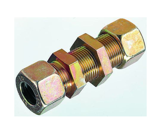 Parker Hydraulic Bulkhead Compression Tube Fitting M16 x 1.5 Made From Chromium Free Zinc Plated Steel SV10LCF