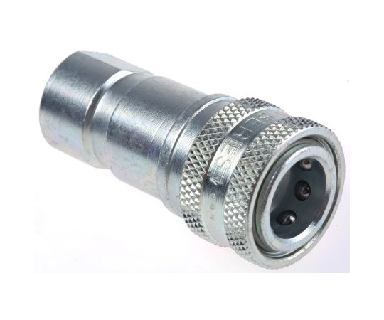 Parker Steel Female Hydraulic Quick Connect Coupling H2-62BSPP 1/4 in H2-62BSPP