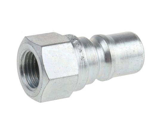 Parker Steel Female Hydraulic Quick Connect Coupling H2-63-BSPP 1/4 in H2-63-BSPP