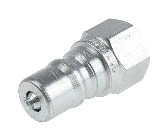 Parker Steel Male Hydraulic Quick Connect Coupling H6-63-BSPP 3/4 in H6-63-BSPP