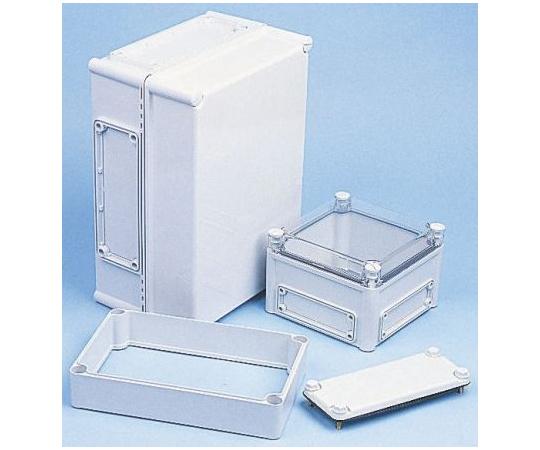 Fibox EK, Polycarbonate Enclosure, IP66, IP67, Flanged, 380 x 190 x 180mm EKMB 180 G + EKMVT
