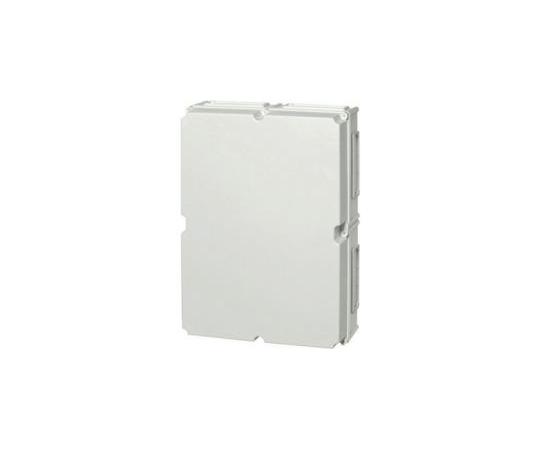 Fibox EK, Polycarbonate Enclosure, IP66, IP67, Flanged, 760 x 560 x 250mm EKWH 250 G + EKUVT (X2)