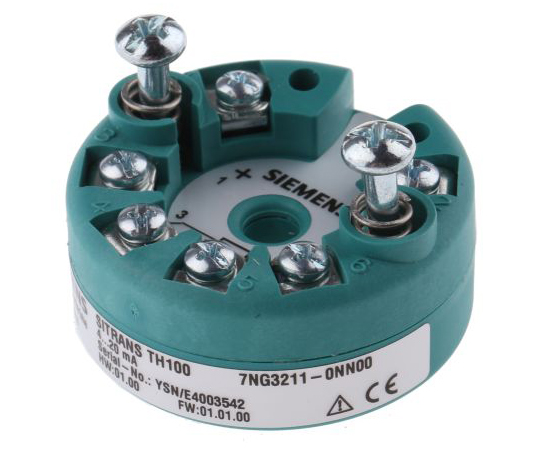 PT100 Temperature Transmitter, 8.5 → 36 V dc, -40 → +85 °C 7NG3211-0NN00