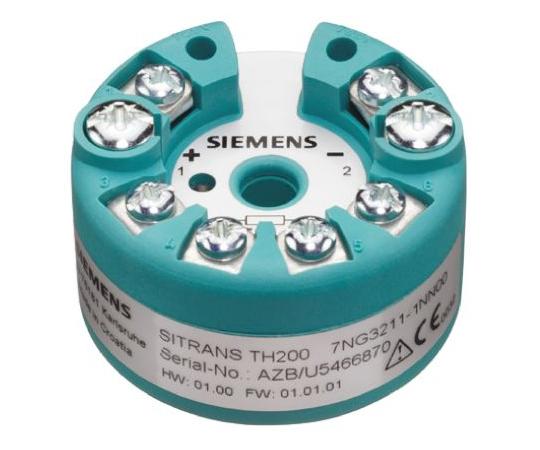 PT100 Temperature Transmitter, 11 → 35 V dc, -40 → +85 °C 7NG3212-0NN00