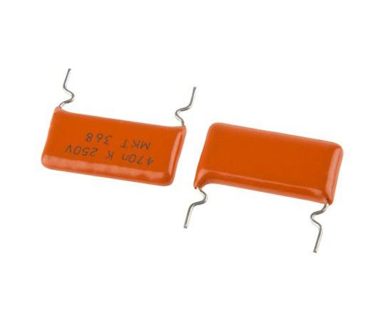 Vishay 470nF Polyester Capacitor PET 160 V ac, 250 V dc ±10% 368, MKT368 Series Through Hole BFC236845474