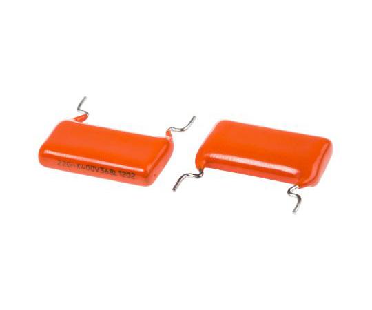 Vishay 220nF Polyester Capacitor PET 220 V ac, 400 V dc ±10% 368, MKT368 Series Through Hole BFC236855224