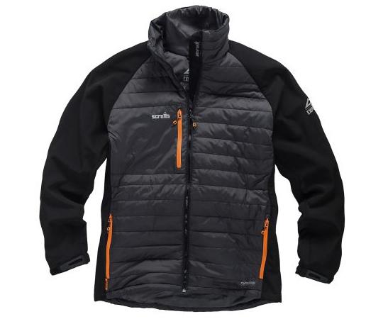 ジャケット メンズ XL 黒/グレイ 断熱  T54047