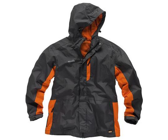 ジャケット メンズ M グレイ/オレンジ 防水  T54039