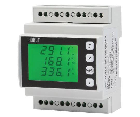 デジタル電力計 LCD 16桁 パルス出力 72 x 45.5 mm M880-DMFシリーズ  M880-DMF-RS-PO