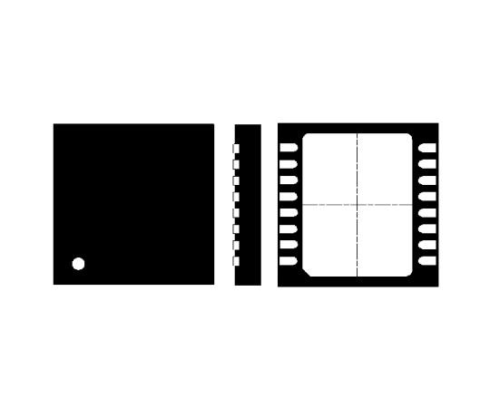8チャンネル EMIフィルタ& ESDプロテクタ  EMI9408MUTAG