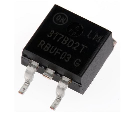 [取扱停止]正電圧 3端子レギュレータ 1.2~37 V 1.5A 可変出力 表面実装 D2PAK 3-Pin  LM317BD2TG