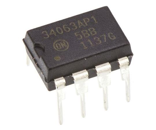 昇圧 / 降圧 DC-DCコンバータ 出力電圧(Min):1.25 V PDIP  MC34063AP1G