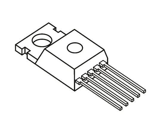 昇降圧 スイッチングレギュレータ 5A 最大5.05 V 固定出力 5-Pin TO-220  MC34167TVG