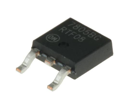 正電圧 3端子レギュレータ 5 V 2.2A 固定出力 表面実装 DPAK 3-Pin  MC7805BDTG
