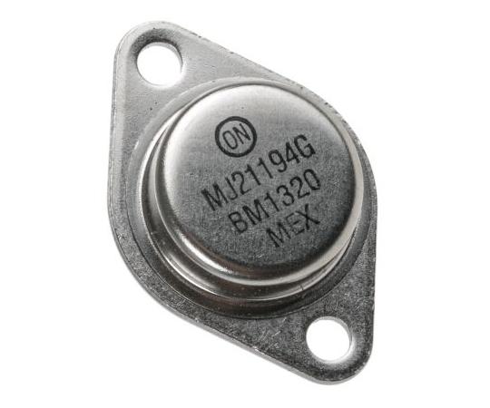 NPN パワートランジスタ スルーホール 250 V 16 A 3-Pin TO-204  MJ21194G