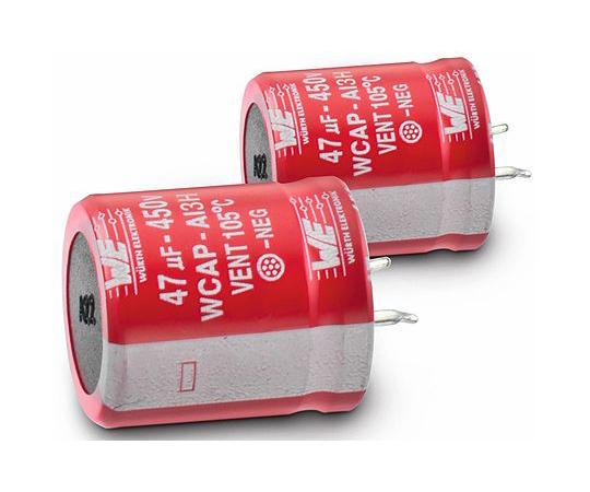 電解コンデンサ 120μF 450V dc  861141485014