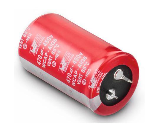 電解コンデンサ 390μF 450V dc  861011485019
