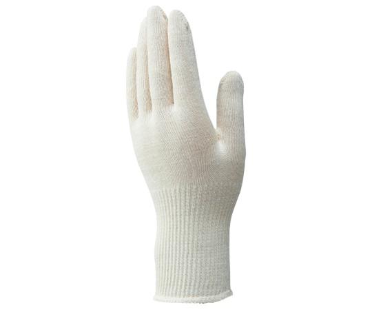 綿ニット手袋 下ばき用 2双パック(120袋入)  C-717