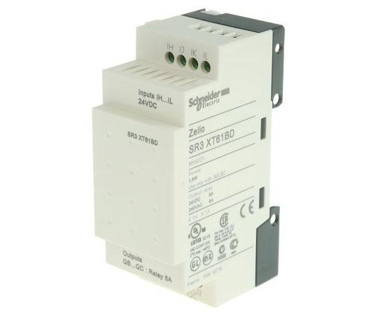 拡張モジュール リレー 2 x Output 24 V dc Zelio Logic  SR3XT61BD