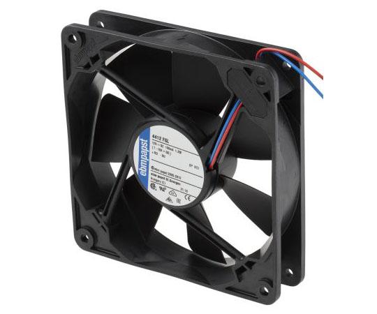 軸流ファン 電源電圧:12 V dc 119 x 119 x 25mm DC (4400Fシリーズ) 角型  4412FGL