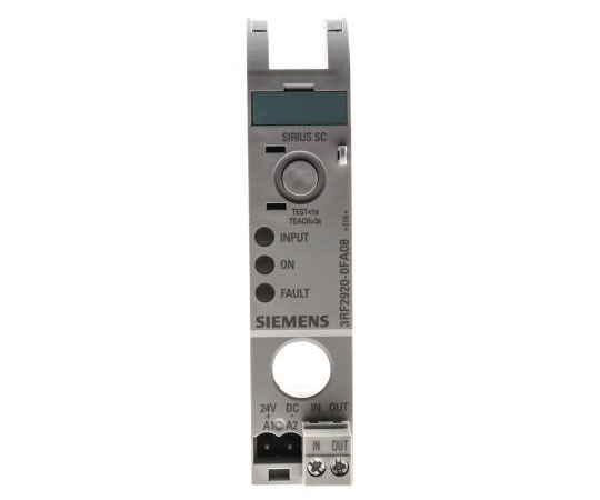 [取扱停止]リレーインターフェイス オプト出力 24 V 25 mA DINレール  3RF2920-0FA08