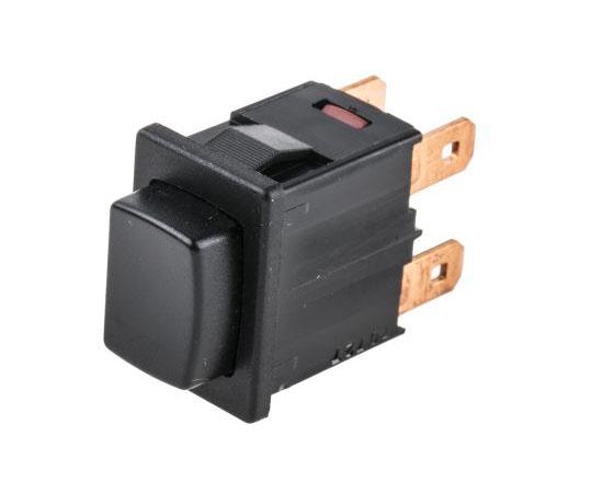 押しボタンスイッチ 16 A @ 250 V ac 2極オン / オフスイッチ  1684.1201