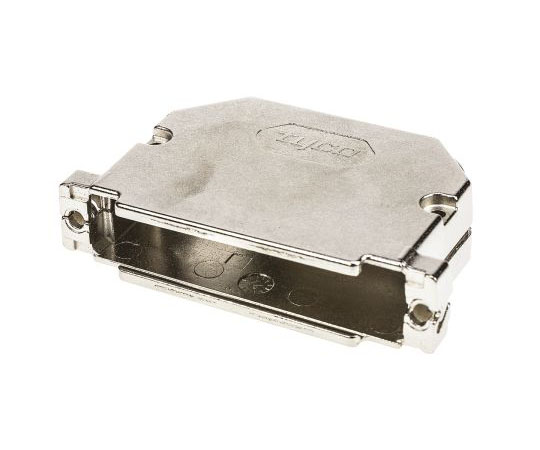 D-subコネクタ用バックシェル Amplimite HD-20 シリーズ アングル 37 極 GD-Zn  1534811-1