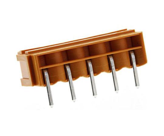 基板用端子台 OMNIMATE SLシリーズ 5極 5.08mm 1列 ライトアングル  SL 5.08/05/90B 4.5SN OR BX -1515260000