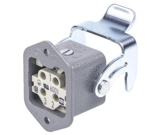 ヘビーデューティパワーコネクタキット 表面キット メス 3 + PE極 10A  09200030301+09200032711