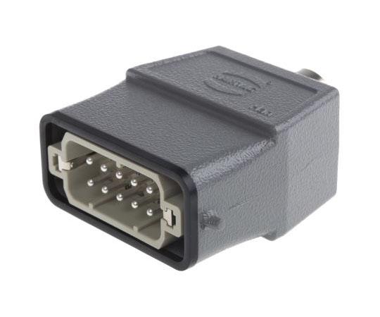 ヘビーデューティパワーコネクタキット パネルキット オス 10 + PE極 16A 250 V ac  09200100440+09200102612