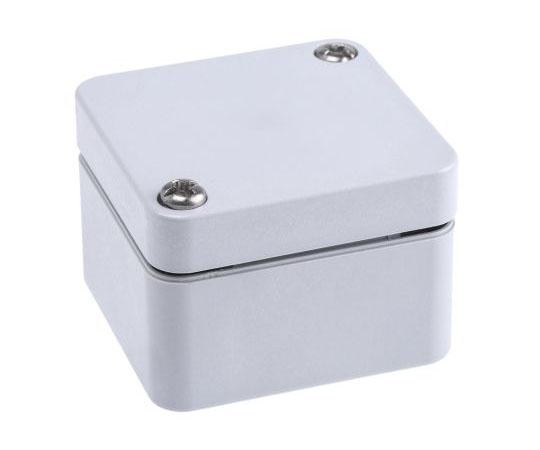 プラスチックボックス ポリカーボネイト 52 x 50 x 35mm グレー  12045521