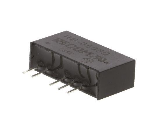 絶縁DC-DCコンバータ Vout:±5V dc 4.5 → 5.5 V dc 1W 5 V dc  RB-0505D