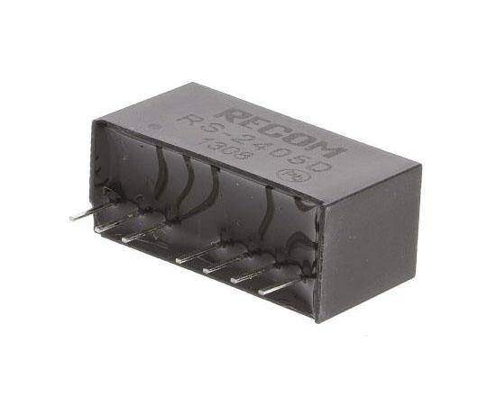 絶縁DC-DCコンバータ Vout:±5V dc 18 → 36 V dc 2W 24 V dc  RS-2405D