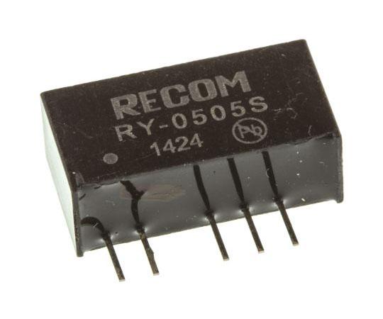 絶縁DC-DCコンバータ Vout:5V dc 4.75 → 5.25 V dc 1W 5 V dc  RY-0505S
