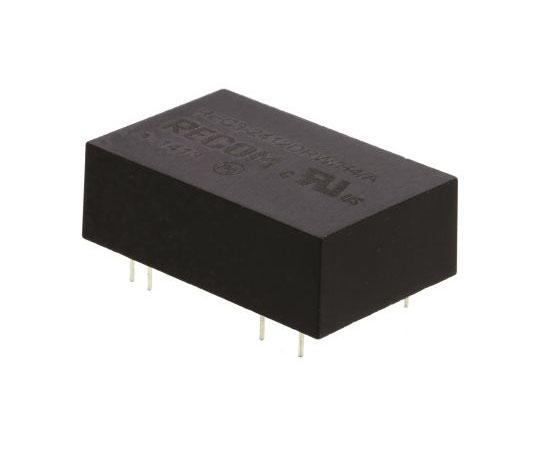 絶縁DC-DCコンバータ Vout:±12V dc 18 → 36 V dc 3W 24 V dc  REC3-2412DRW/H4/A