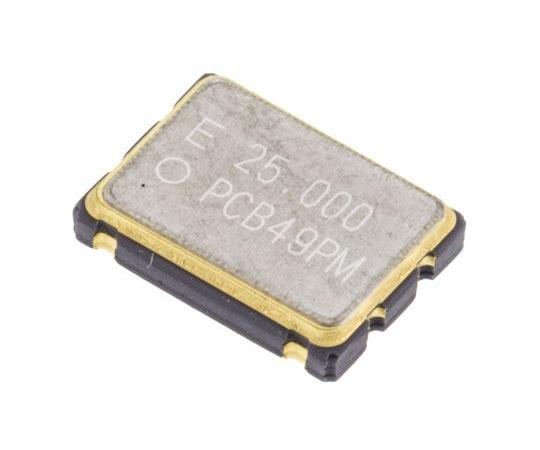 水晶発振器 25 MHz CMOS出力 表面実装 4-Pin SMD  Q3309CA40010812