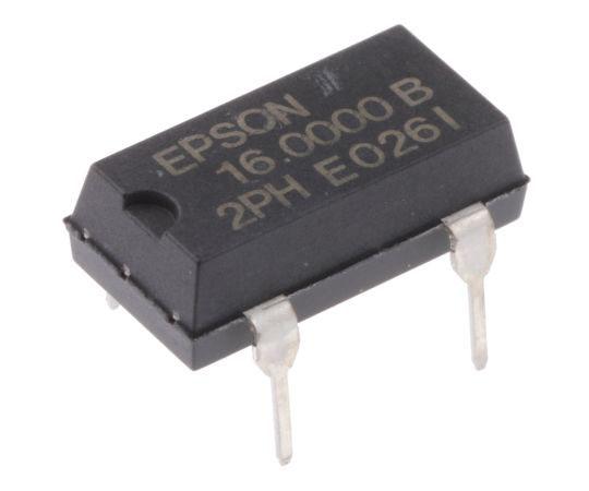 水晶発振器 16 MHz CMOS出力 スルーホール 4-Pin PDIP  Q3204DC21000300