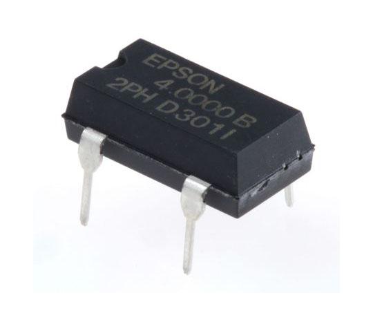 水晶発振器 4 MHz CMOS出力 スルーホール 4-Pin PDIP  Q3204DC21031500