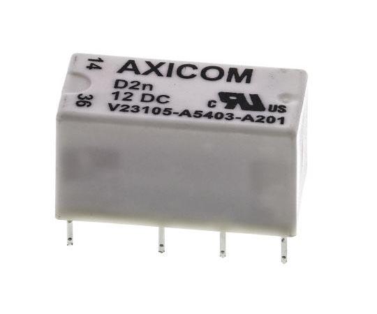 リレー 12V dc 2c接点 基板実装  V23105A5403A201