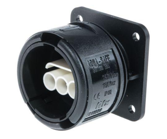 IECコネクタ 3極 16A 250 V ac/dc メス  478-7666