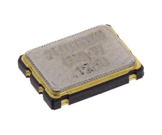 水晶発振器 24 MHz HCMOS TTL出力 表面実装 4-Pin 7 x 5 mm SMD  LFSPXO019082