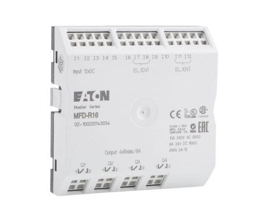 PLC I/Oモジュール デジタル入力 MFD-AC-CP8 MFD-CP10 入力数:12 出力数:4 (Relay)  MFD-R16