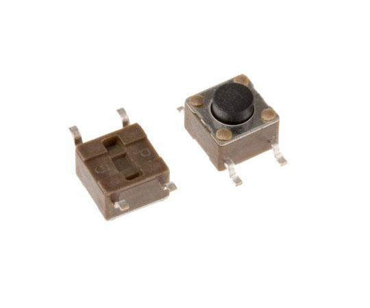 タクタイルスイッチ 単極単投(SPST) 表面実装 モーメンタリ 7.89 x 3.5 x 8.5mm  4-1437565-1