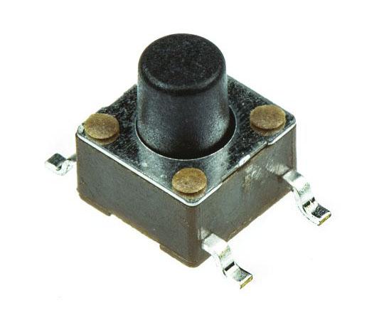 タクタイルスイッチ 単極単投(SPST) 表面実装 モーメンタリ 7.89 x 3.5 x 8.5mm  4-1437565-9