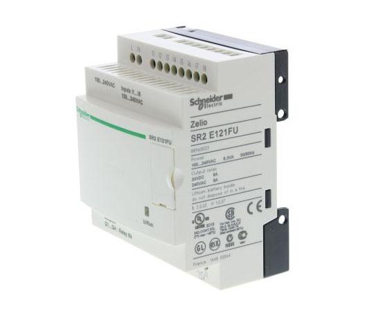 ロジックモジュール リレー 4 x Output 100 → 240 V ac Zelio Logic  SR2E121FU