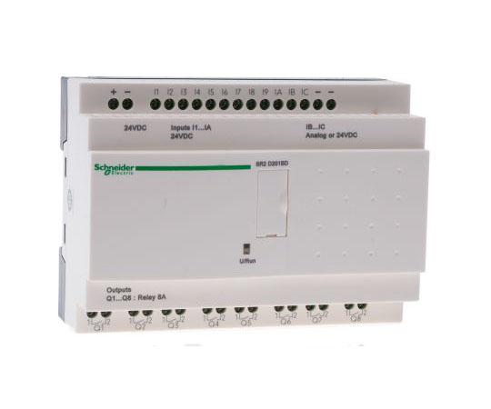 ロジックモジュール リレー 8 x Output 24 V dc Zelio Logic  SR2D201BD